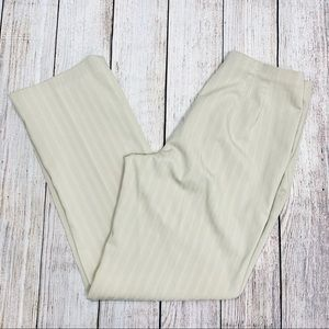 5/$25 East 5th Pinstriped Pants Cream